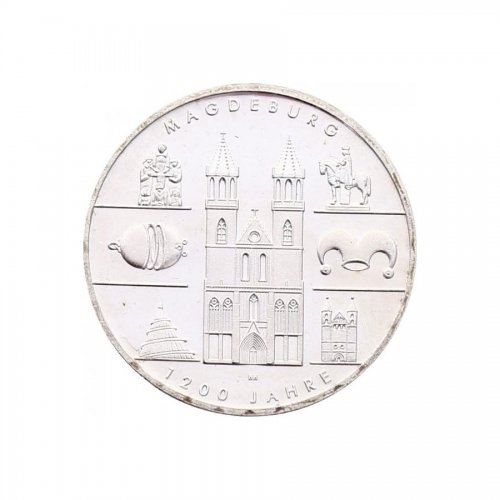 10 Euro Magdeburg         2005 A KM.240 stgl.