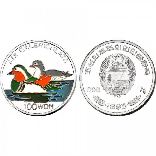 100 Won 1995 Enten KM104  pp