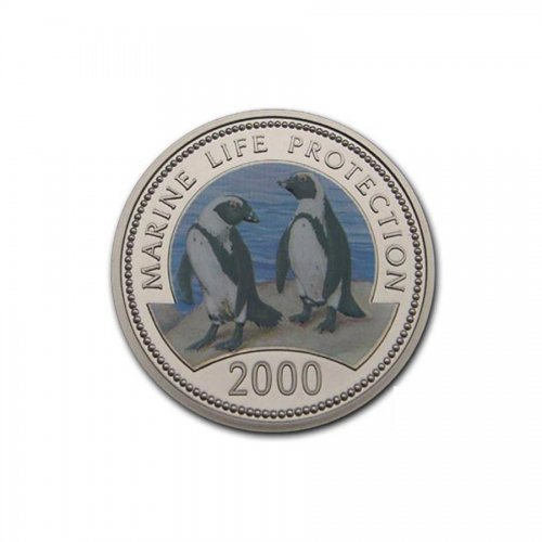 25 Shillings 2000 2 Pinguine KM.108  pp