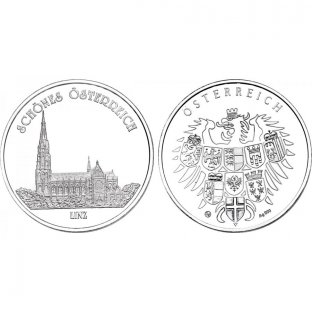Ag-Medaille Mariendom in Linz
