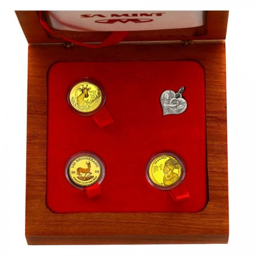 "Set: ""2006 South Africa Special Gold Set"" (3x..."