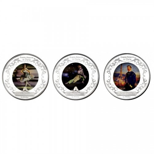 Set 3x 2 Dollar 2009 Russian Seasons in Paris