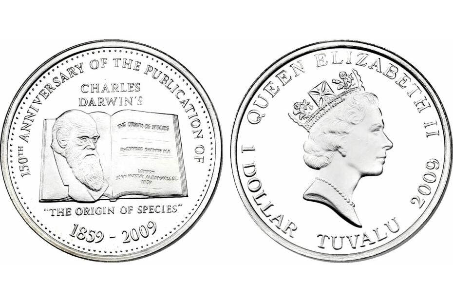Dollar 2009 Charles Darwin - Origin of Species