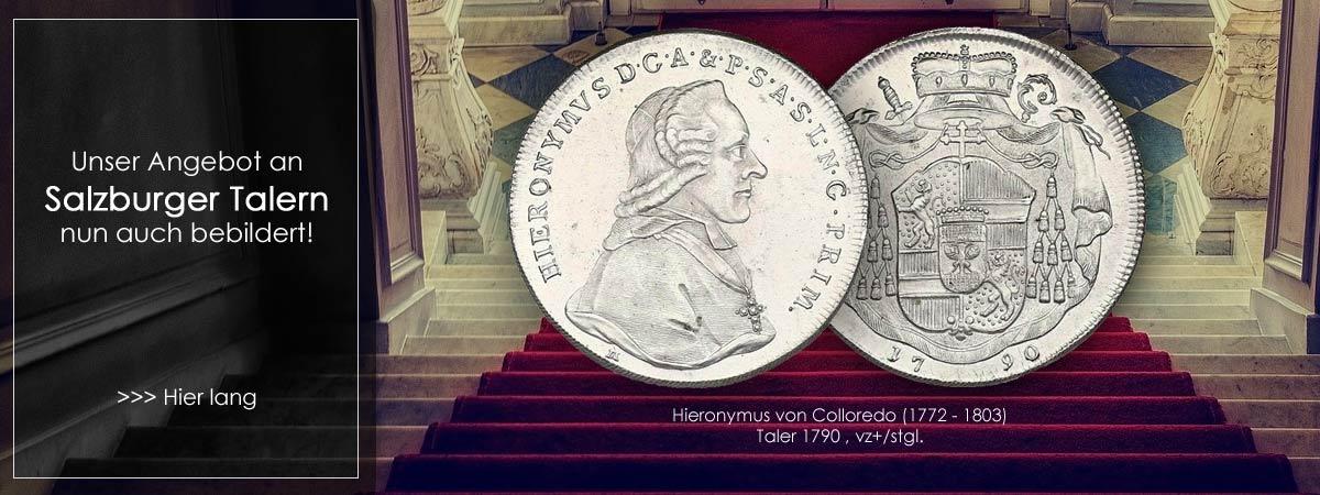 Salzburger Münzen