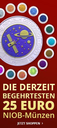 Euro NIOB Münzen